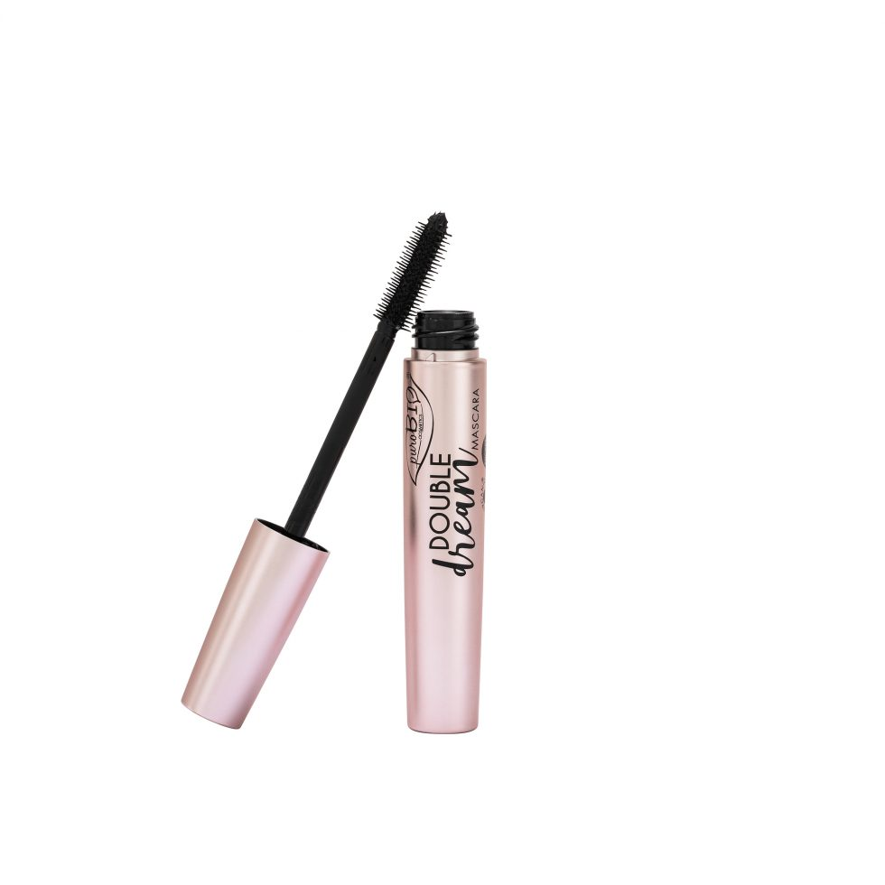 Mascara Double Dream di Purobio Cosmetics colore nero per occhi biologico con ottime opinioni