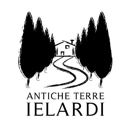 """Logo del marchio di alimentari """"Antiche Terre Ielardi"""" della Società Cooperativa Russo Luca"""