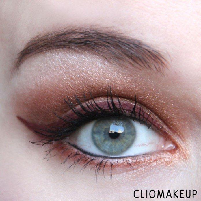 Eyeliner InkMe - Hatshepsut di Neve Cosmetics applicato da ClioMakeup sull'occhio con codina