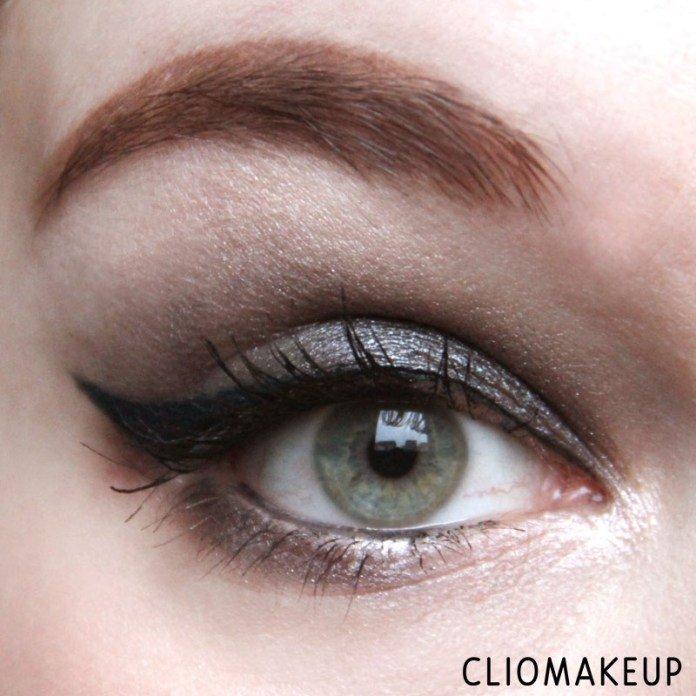Esempio eyeliner InkMe - Thenes di Neve Cosmetics applicato da ClioMakeup con codino