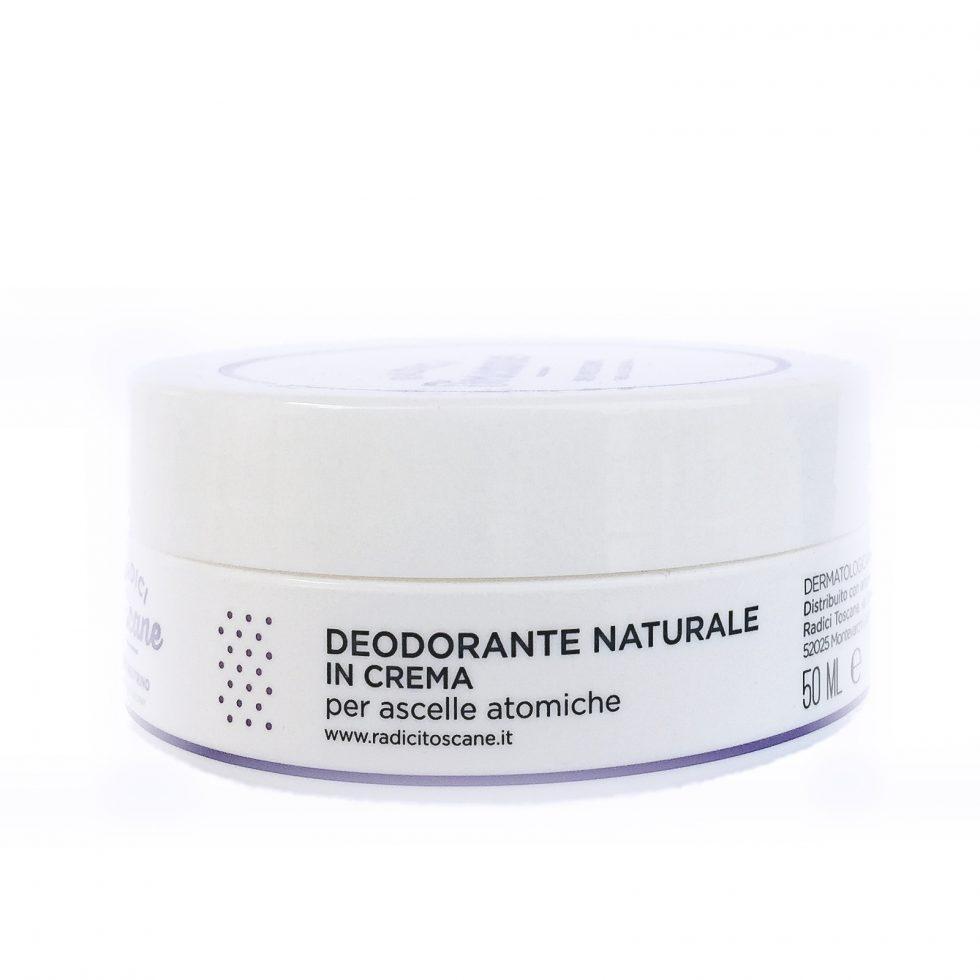 Deo Neutrino deodorante solido in crema neutro e biologico di Radici Toscane da 50 ml