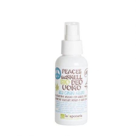 Deodorante bio per uomo Biodeo Peace and no smell de La Saponaria