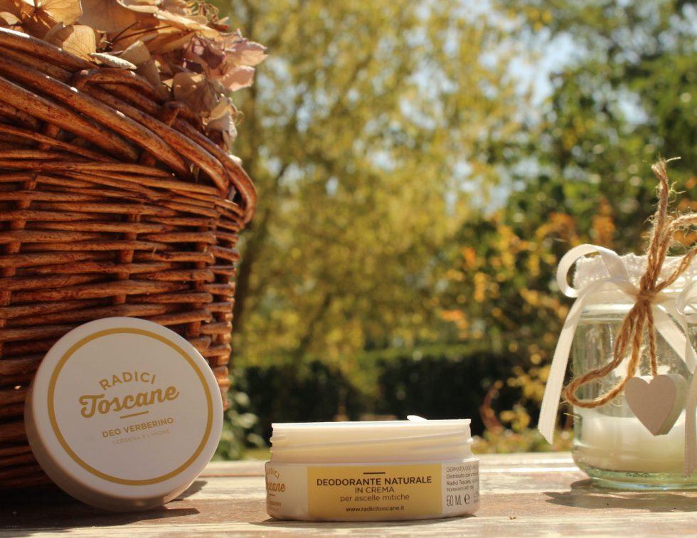 Deo Verberino deodorante solido in crema biologico di Radici Toscane da 50 ml