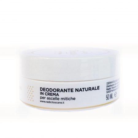 Deo Verberino deodorante solido in crema naturale e biologico di Radici Toscane da 50 ml