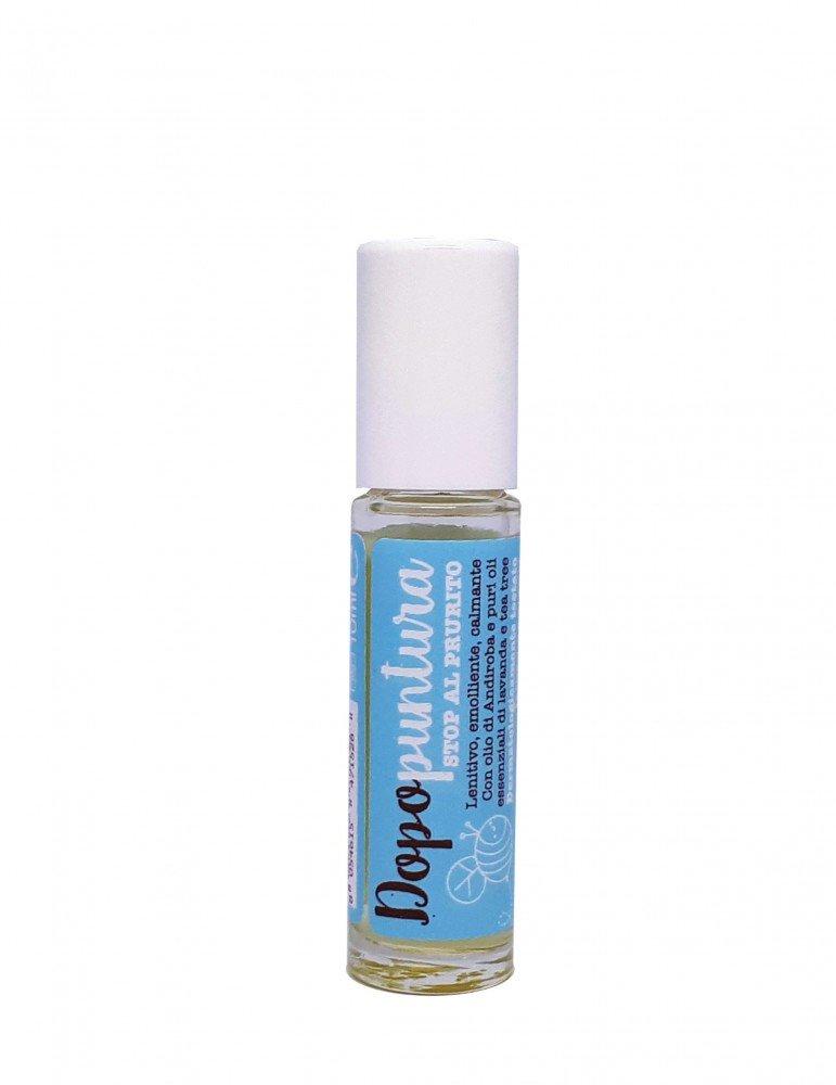 Stick roll-on dopopuntuea naturale biologico contro zanzare, api, vespe e altri insetti di La Saponaria da 10 ml
