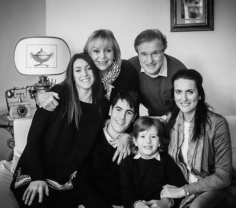 Foto di famiglia del Dr. Taffi