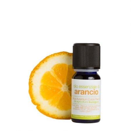 Olio essenziale biologico puro di arancio dolce da 10 ml di La Saponaria