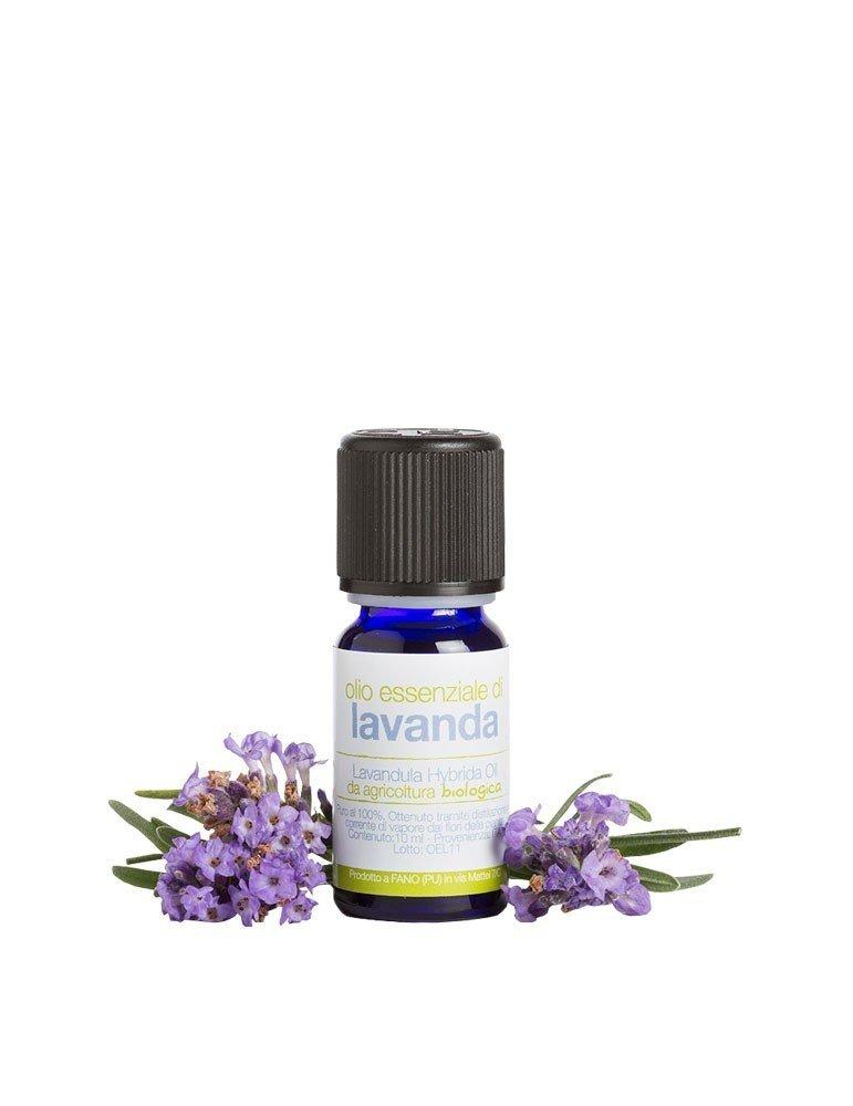 Olio essenziale biologico puro di lavanda in formato piccolo da 10 ml di La Saponaria