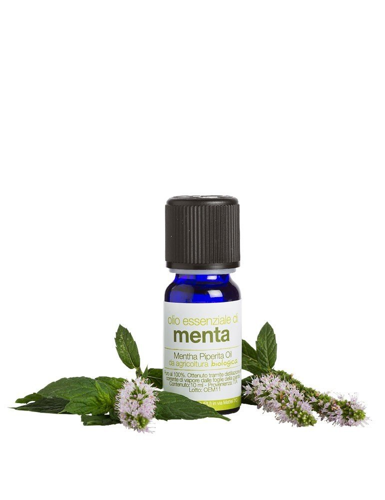Olio essenziale biologico puro di Menta de La Saponaria da 10 ml