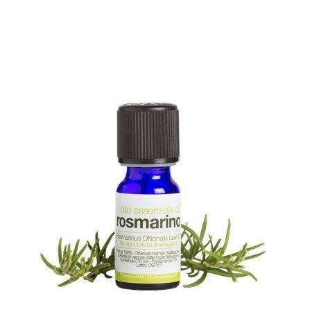 Olio essenziale puro biologico di rosmarino de La Saponaria da 10 ml