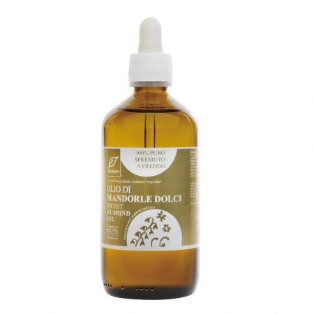 Olio naturale di mandorle dolci puro al 100% di Dr. Taffi da 250 ml