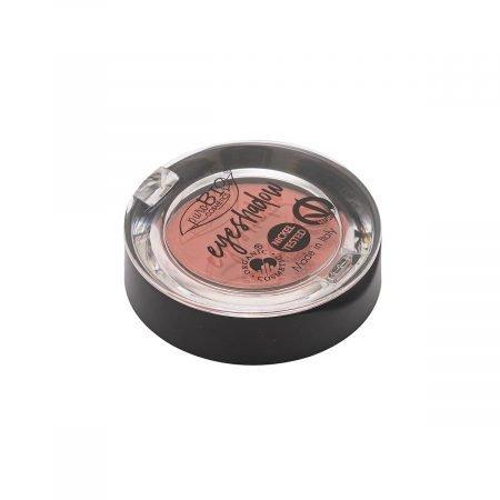 Ombretto compatto shimmer in cialda n. 28 arancio scuro di PuroBio Cosmetics