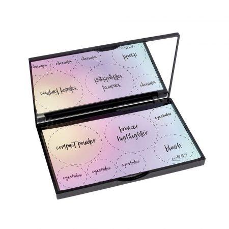 Palette magnetica piccola fornita vuota di PuroBio Cosmetics per il make-up fai da te