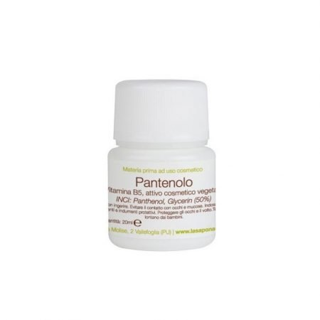 Pantenolo liquido puro al 50% di La Saponaria vegan