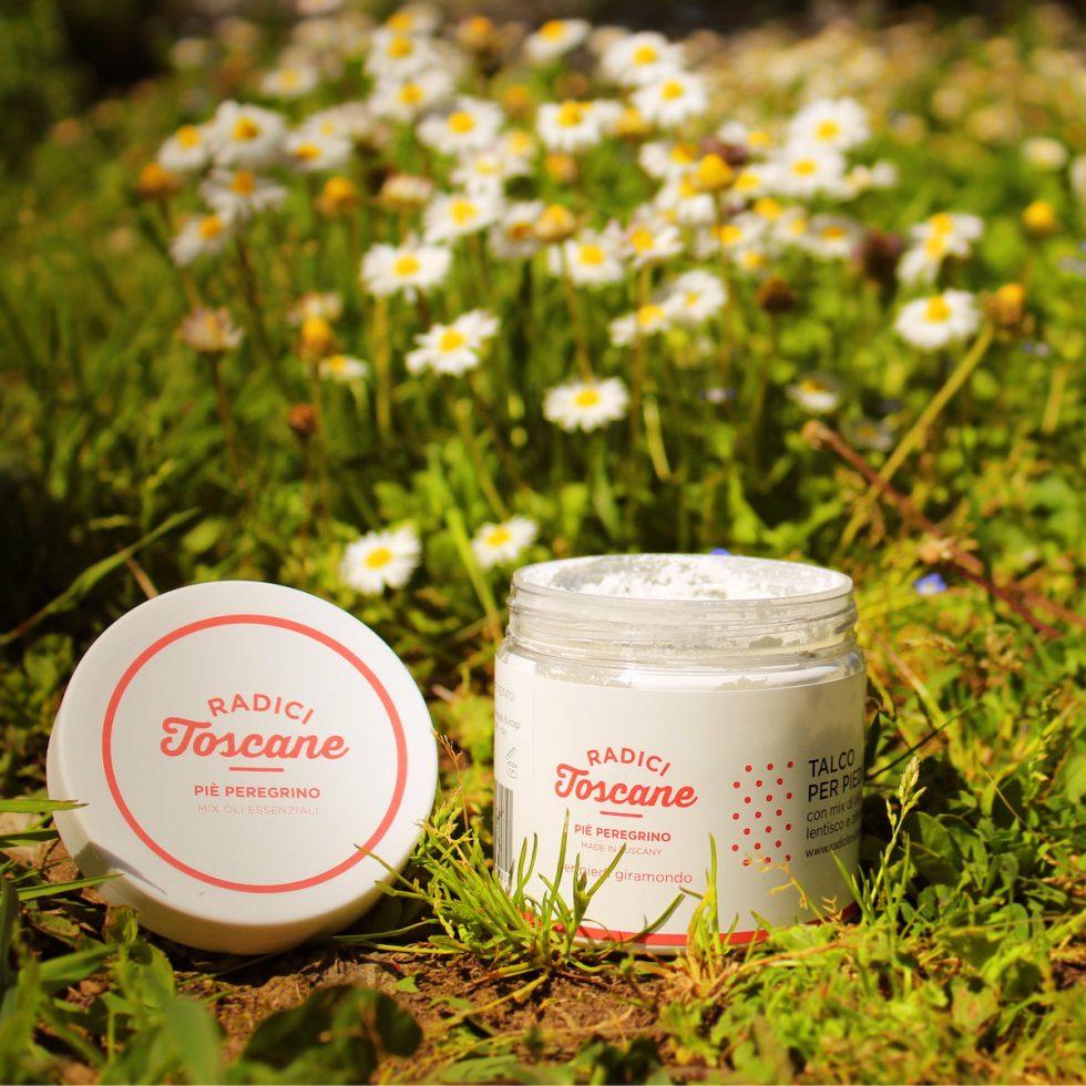 Pie peregrino deodorante per piedi solido in crema biologico artigianale di Radici Toscane