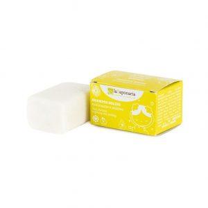 Shampoo solido rinforzante e lenitivo di La Saponaria da 50 grammi