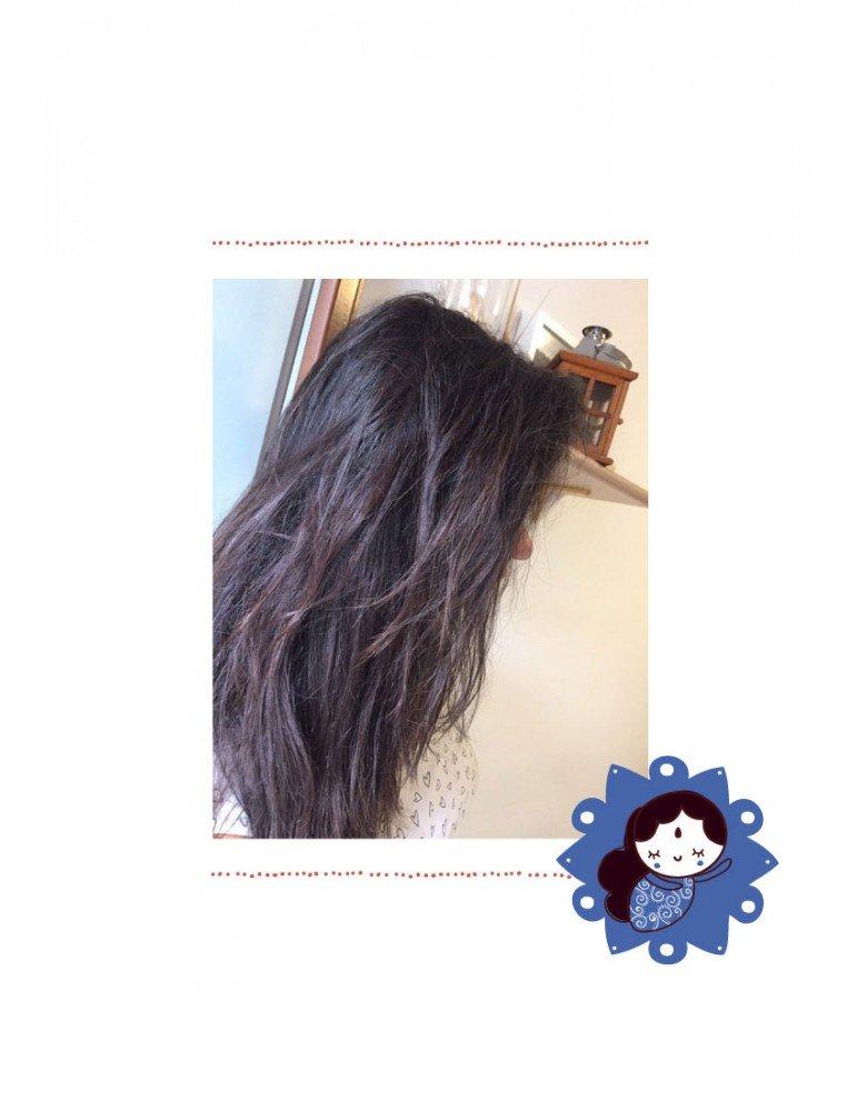 Tinta vegetale castano scuro henné per capelli La saponaria